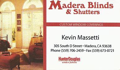 Madera Blinds & Shutters